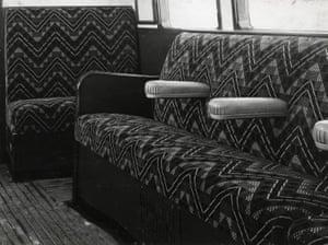Underground, upholstery, J Somerset Murray, 1949