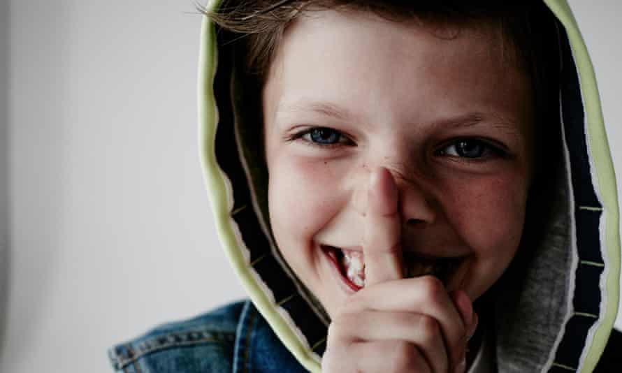 Josh, aged nine, started asking his mum questions about gender at the age of six.