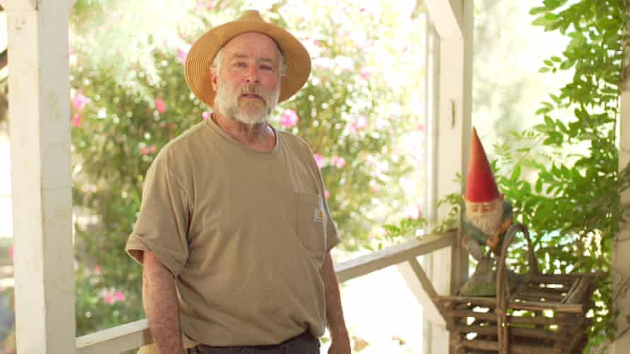 Dennis Kelly, a Napa Valley resident, lives downstream from the landfill and worries about contamination from the waste.