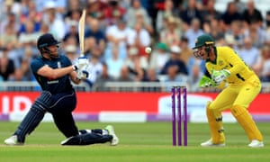 England's Jonny Bairstow made a century at Trent Bridge, as the home side enjoyed a record win in their one-day international against Australia.