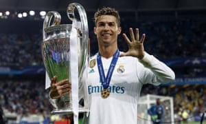 Cristiano Ronaldo won his fifth European Cup last season when Real Madrid beat Liverpool in the final.