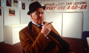 George Cole as the hapless conman Arthur Daley.