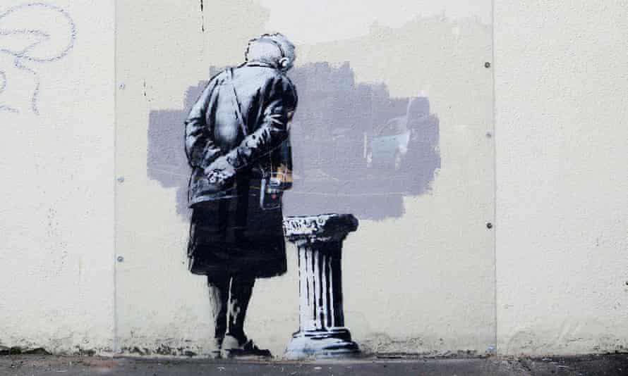 Art Buff by Banksy