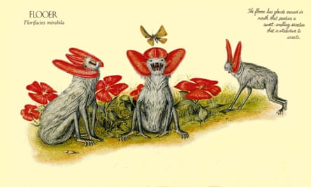 The Flooer as imagined by Dougal Dixon in his book After Man: A Zoology of the Future