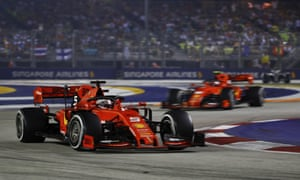 Sebastian Vettel đã giành chiến thắng cuộc đua đầu tiên của mình trong hơn một năm.