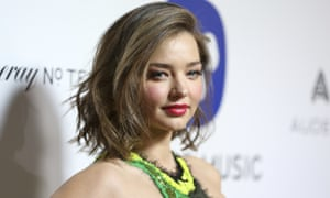 Miranda Kerr has handed over $8.1m of jewellery, allegedly bought for her by a Malaysian financier with stolen money, to the US justice department.