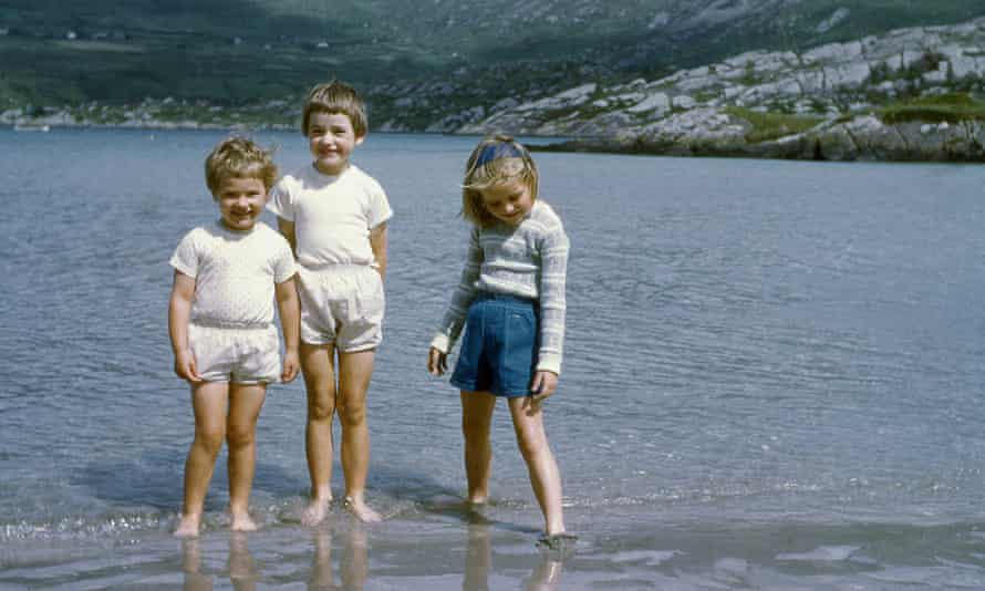 Beside the sea ... in the 1960s.