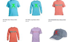 Kanye West's designs for Blexit.