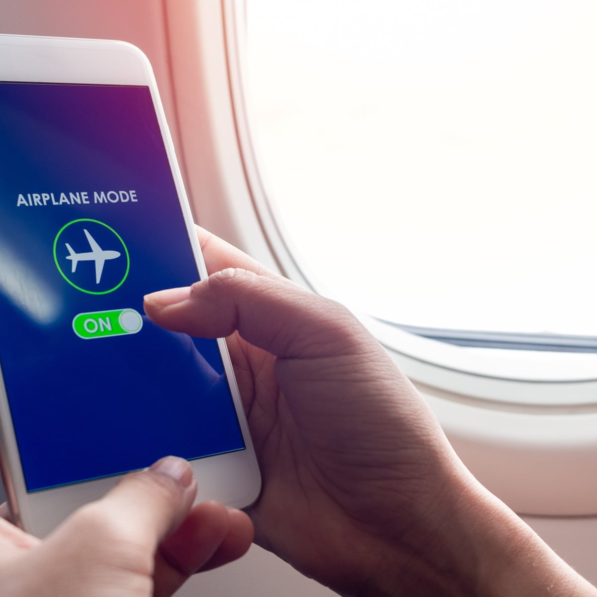 Ah The Peace Of Airplane Mode It S Too Good To Use On Flights Alone Health Wellbeing The Guardian