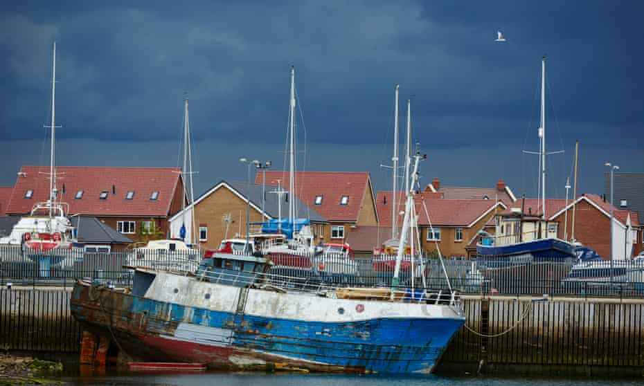 Fleetwood was once the third biggest fishing port in England.