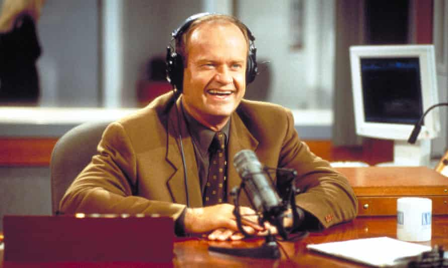 Kelsey Grammer as Frasier Crane in NBC's television comedy series Frasier.