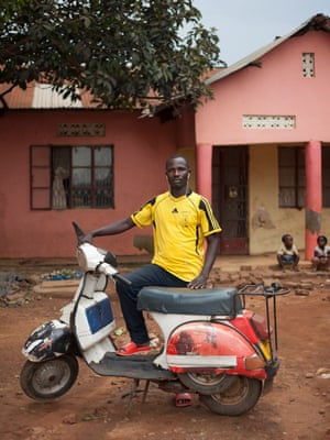 Vespa Scooter Owners In Uganda Africa Photographed By Ariel Tagar