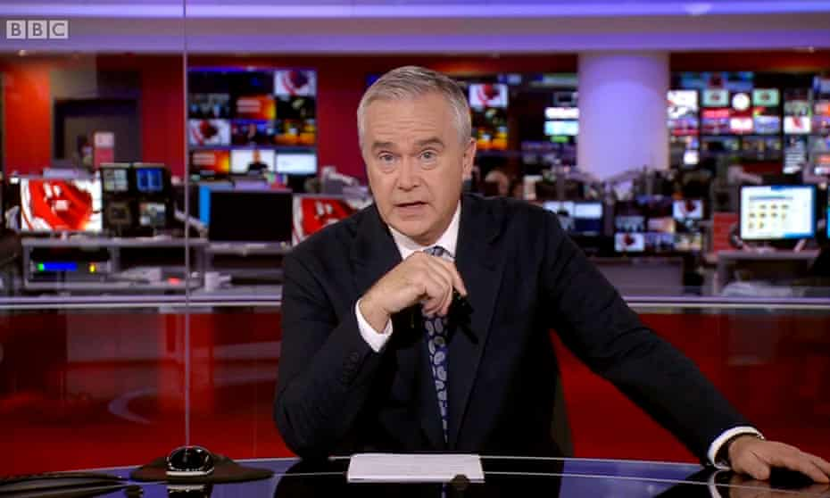 Huw Edwards underlined the BBC 10pm bulletin's lead over its ITV rival on Facebook
