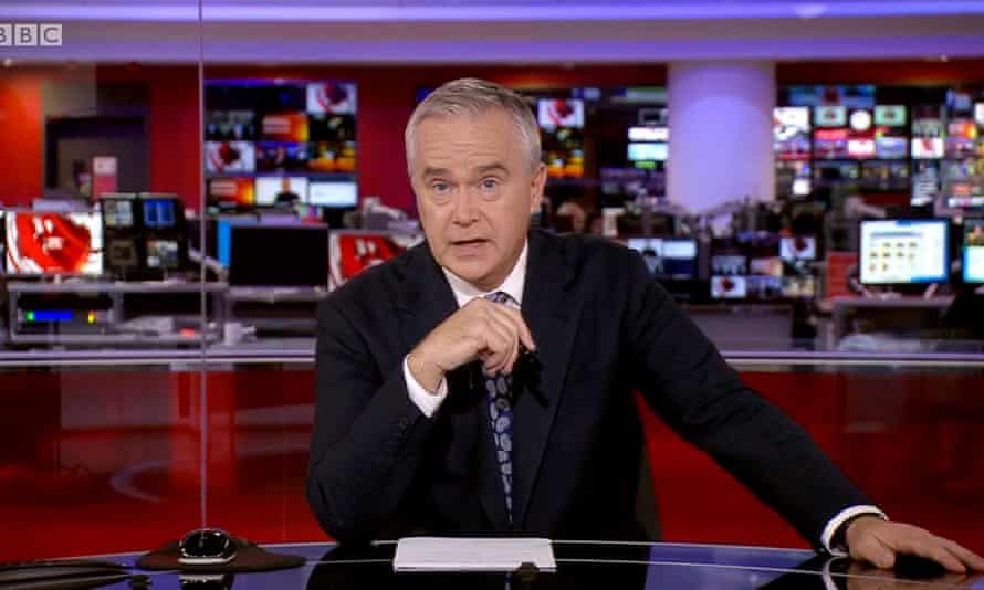 Huw Edwards will helm the BBC coverage.