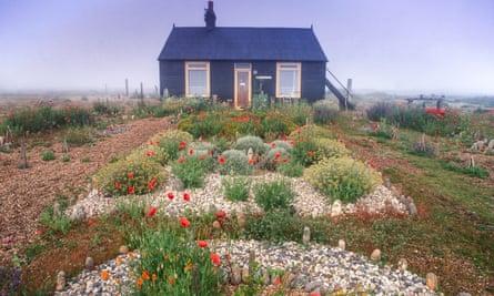 Derek Jarman's garden in Dungeness, Kent.