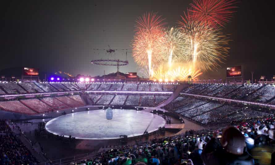 The UK said the GRU's cyber-unit targeted the opening ceremony of the 2018 winter Olympics.