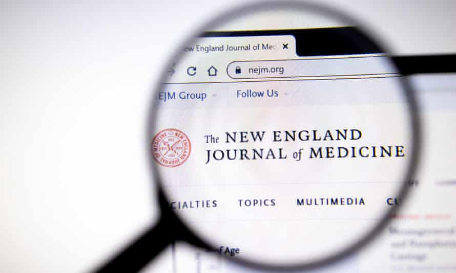 The New England Journal of Medicine website