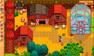 No instructions … Stardew Valley.