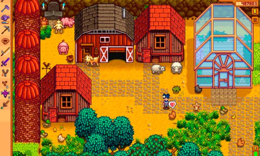 Intense … Stardew Valley.