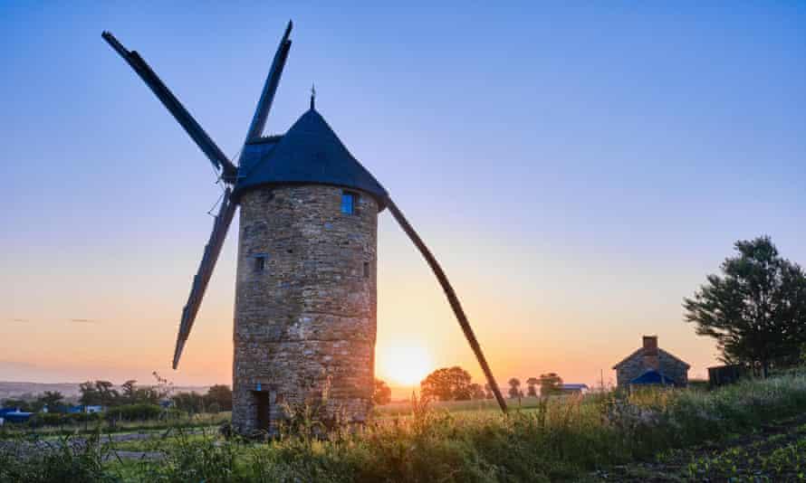 Bertaud mill, Bain-de-Bretagne.