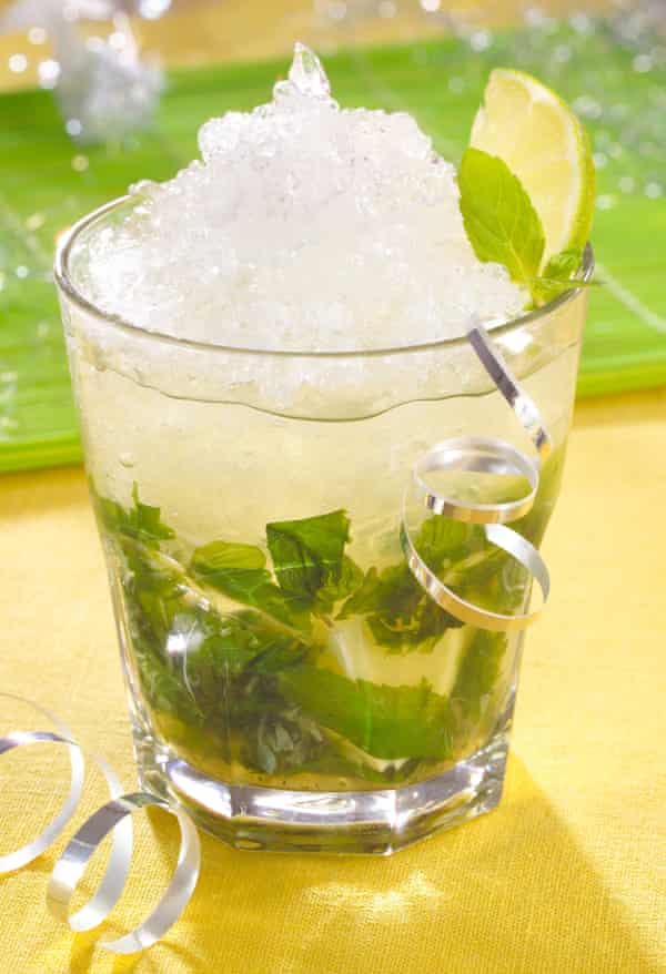 Hold the rum ... virgin mojito.
