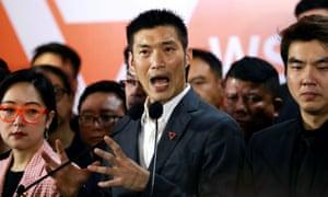 Future Forward's leader, Thanathorn Juangroongruangkit