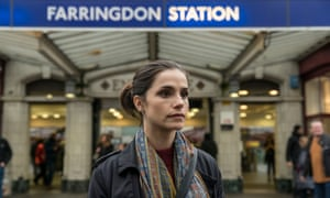 Charlotte Riley as Holly Evans in Mike Bartlett's Press.