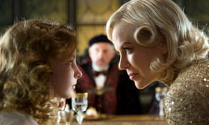 A welcome end to innocence … Dakota Blue Richards (left) as Lyra Belacqua in the film version of Northern Lights, The Golden Compass.