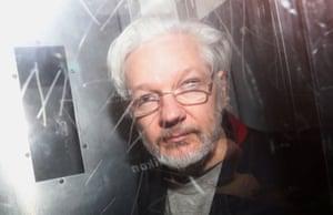 London, England WikiLeaks' founder Julian Assange leaves Westminster Magistrates Court