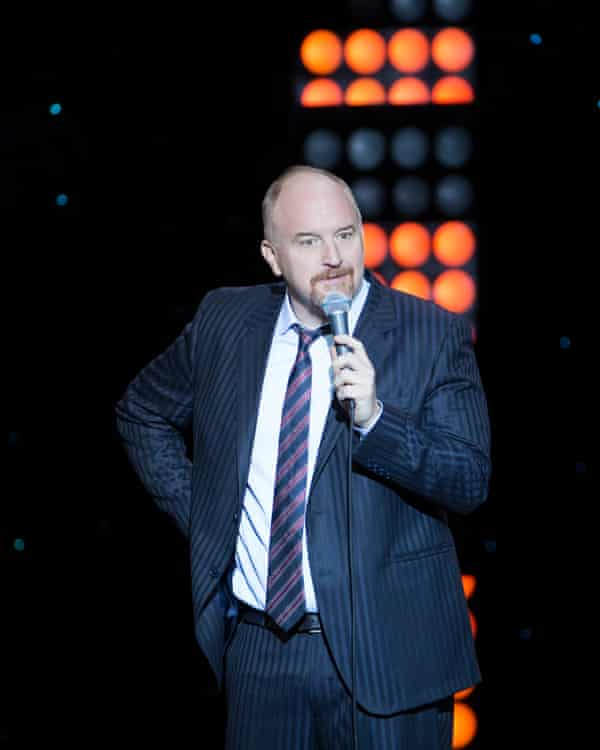Louis CK admitted to sexual misconduct in November 2017