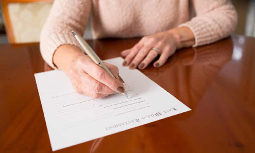Do-it-yourself: the cost of not signing a will is leaving behind heartache and complications for your family.