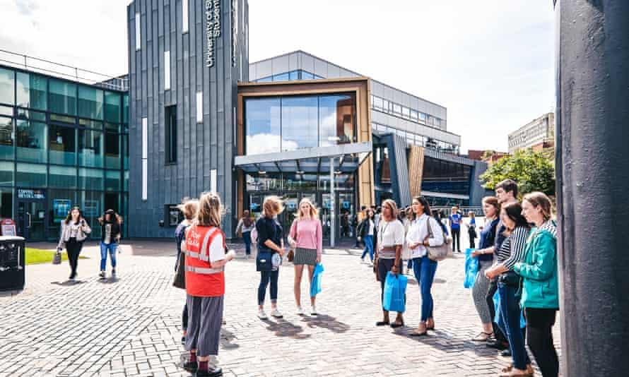 Students at University Of Sheffield