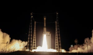 The launch of Sentinel-2B, part of the most ambitious Earth observation satellite programme to date. Despite having an instrumental role in building the hardware, it is now unclear what access British teams will have to the programme's observations.