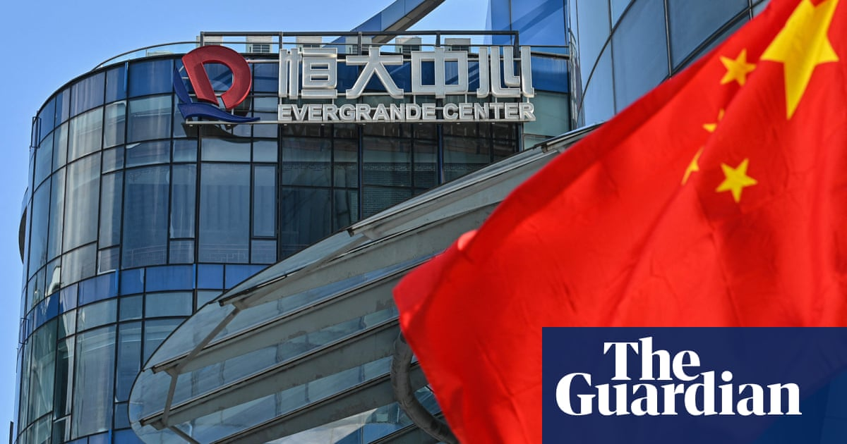 China Evergrande shares fall sharply after $2.6bn asset sale collapses