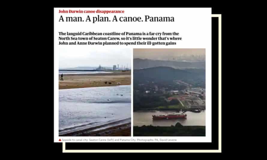 A man. A Plan. A Canoe. Panama. Screen grab from guardian.com