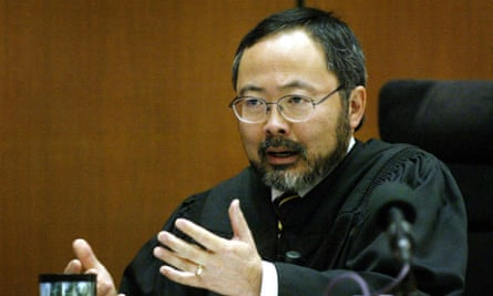 Kenneth Choi as Judge Lance Ito: 'a certain level of contempt'