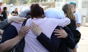 Fadwa Mahmoud, Asmaa Al Farraj and Monika Schneider.