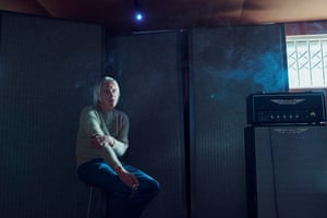 Paul Weller, photographed at his studio in Surrey for the New Review, ahead of the release of his 16th album, Fat Pop (Volume 1).