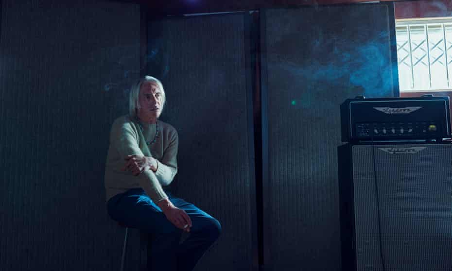 Paul Weller photographed last month at his studio in Surrey.