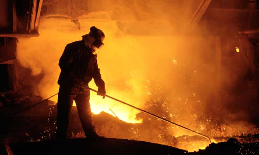 The government and unions have indicated they would like to preserve the blast furnaces at Port Talbot.