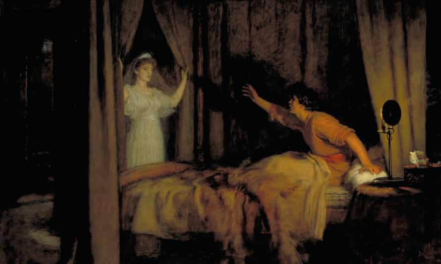 Speak! Speak!, by John Everett Millais, 1895. A colour print from Famous Paintings, with an introduction by Gilbert Chesterton (Cassell, 1912).