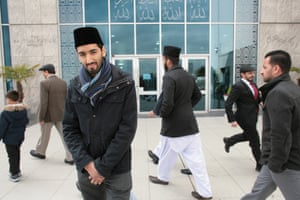 Umar Nasser, at the Baitul Futuh mosque in Morden, south London.
