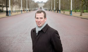 Peter Phillips on the Mall in London