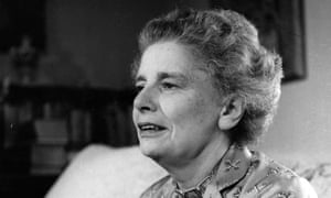Dame Rebecca West, pictured in 1953.