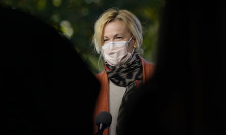 Deborah Birx, the White House coronavirus response coordinator during an in Washington on 30 September.