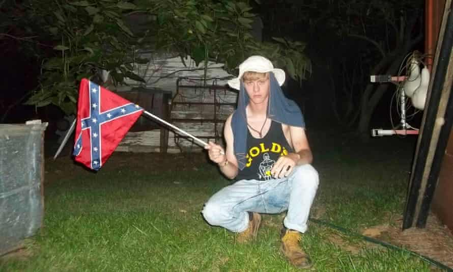 Dylann Roof confederate flag