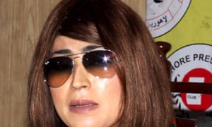Qandeel Baloch became a social media star after posting videos of herself online.
