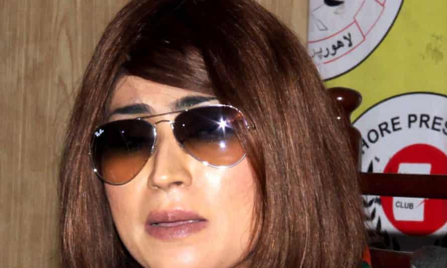 Qandeel Baloch became a social media star after posting videos of herself online.