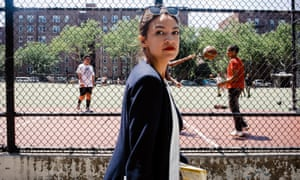 Alexandria Ocasio-Cortez in New York