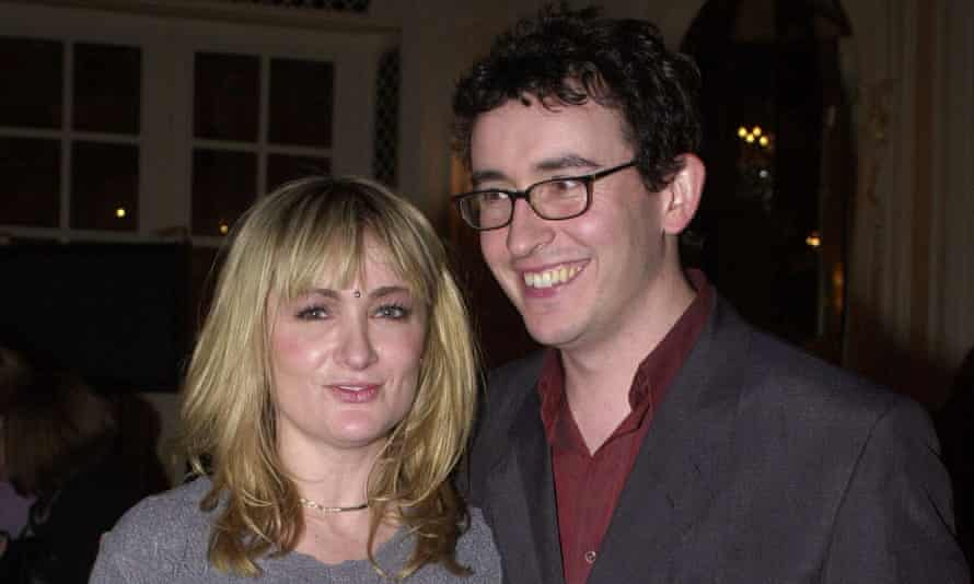 Caroline Aherne and Steve Coogan